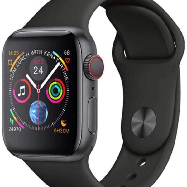 Smart watch iwo 8, preto, série 4, 44mm