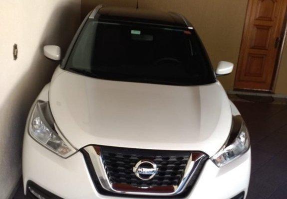 Nissan Kicks unico dono 2018 aut completo - 2018