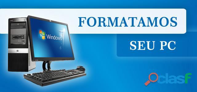 Formatação e manutenção em geral