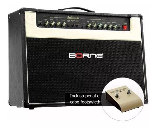 Amplificador borne cubo guitarra evidence 200 preto 150w rms