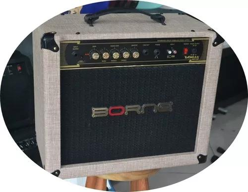 Amplificador borne vorax 1050 novo c/ garant. (loja 18 anos)