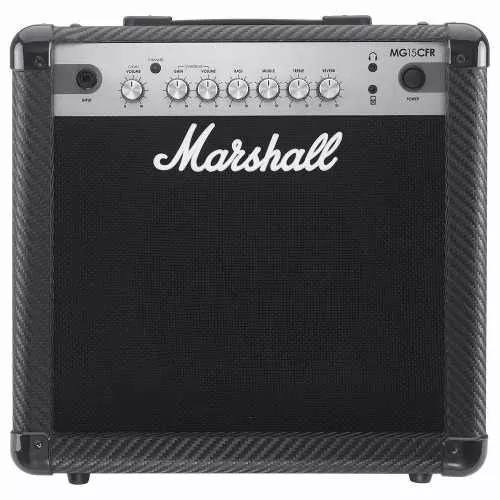 Amplificador combo p/ guitarra mg15cfr-b - marshall