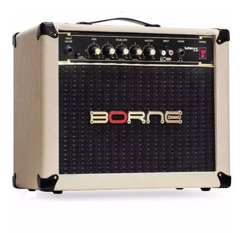 Amplificador cubo borne guitarra vorax 630 cr