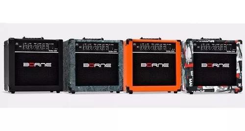 Amplificador cubo guitarra borne g-30 15 watts