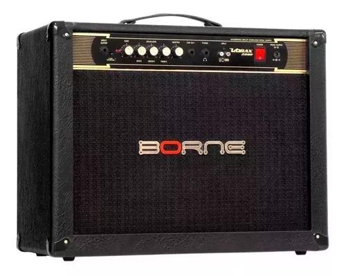 Amplificador cubo guitarra borne vorax 2080 + frete grátis