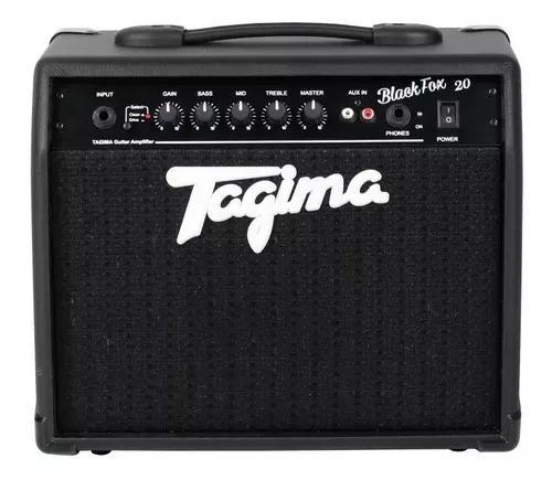 Amplificador cubo guitarra tagima black fox 20