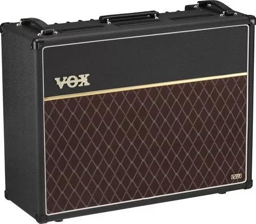 Amplificador cubo guitarra vox ac30vr valvulado ac30 vr 30w