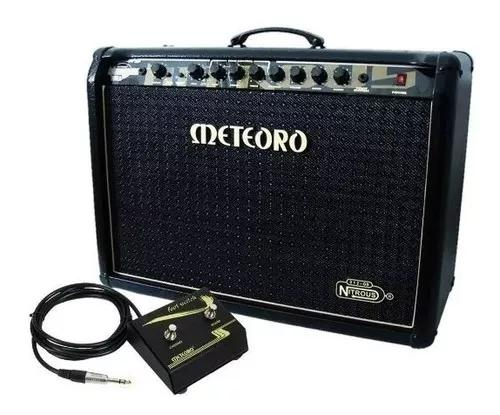 Amplificador cubo meteoro nitrous gs100 100w + foot
