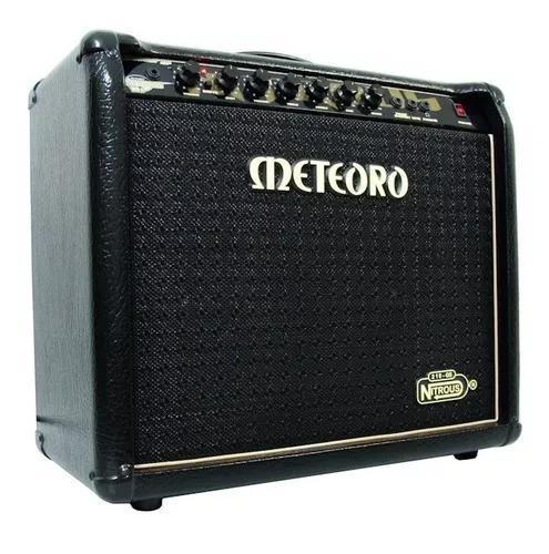 Amplificador cubo meteoro nitrous gs100 100w + nfe + foot