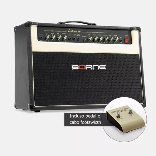 Amplificador cubo para guitarra borne evidence 100 100w 2x10