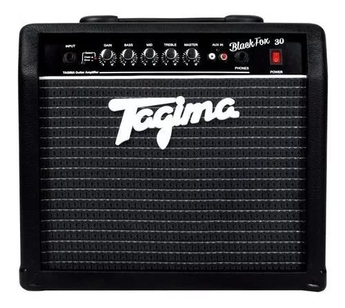Amplificador cubo tagima black fox 30 watts p/ guitarra