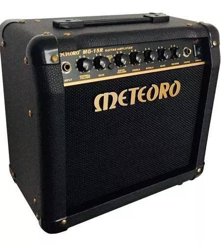 Amplificador de guitarra meteoro mg-15r 15 watts com reverb