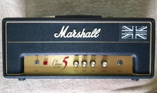 Amplificador marshall class 5 watts head valvulado all tube!