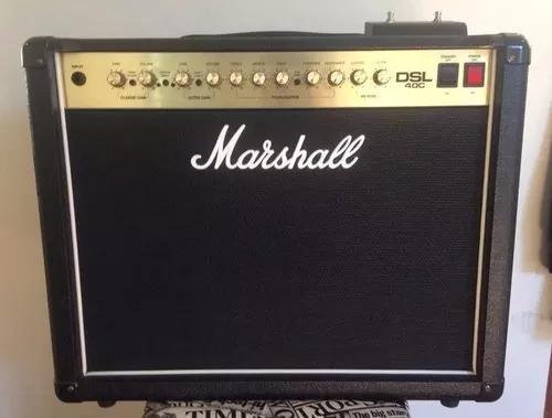 Amplificador marshall dsl 40c valvulado + up celestion v30