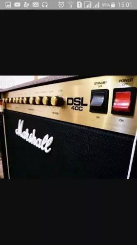 Amplificador marshall dsl 40c valvulado +fg
