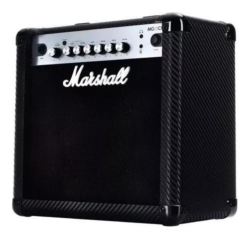 Amplificador marshall mg 15 cfr carbon fiber 15 w reverb
