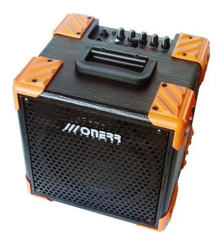 Amplificador onerr block 20tu guitarra c/ afinador metronomo
