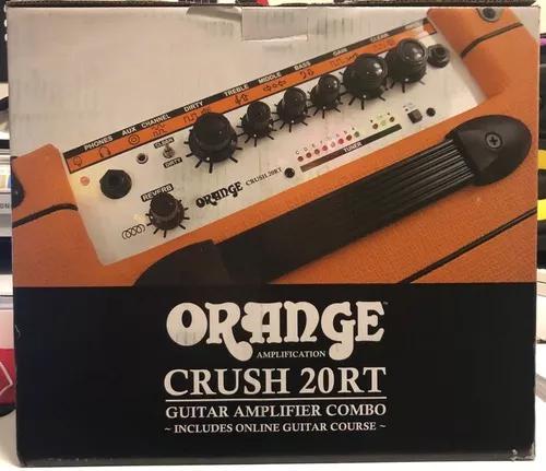 Amplificador orange crush 20rt 2 canais 20w 8' bi-volt