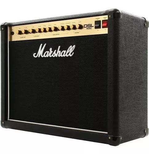 Amplificador valvulado marshall dsl40c cubo 40w frete