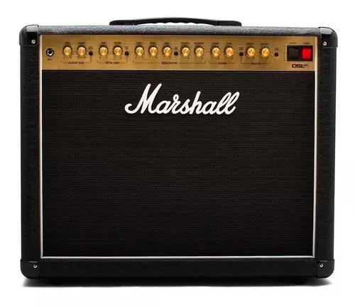 Amplificador valvulado para guitarra marshall dsl40cr 40w