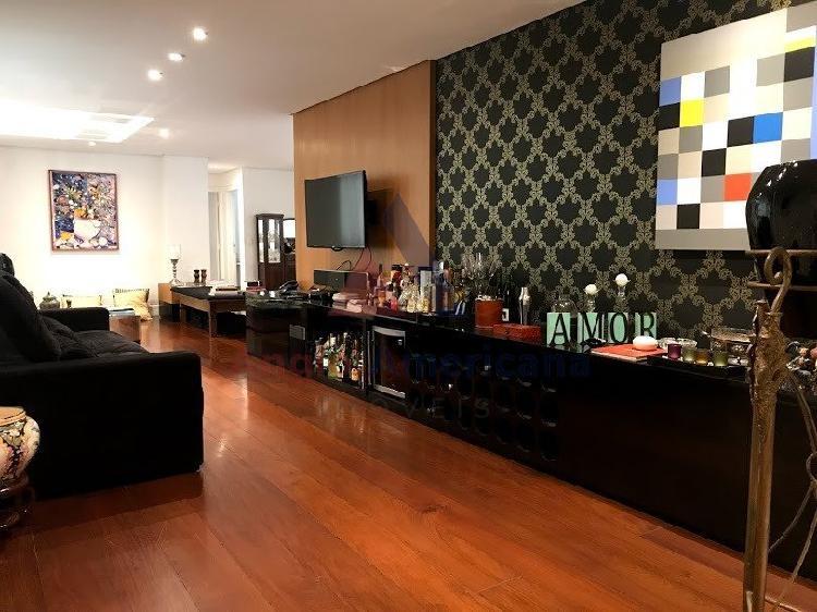 Apartamento com 3 quartos para alugar, 183 m² por r$