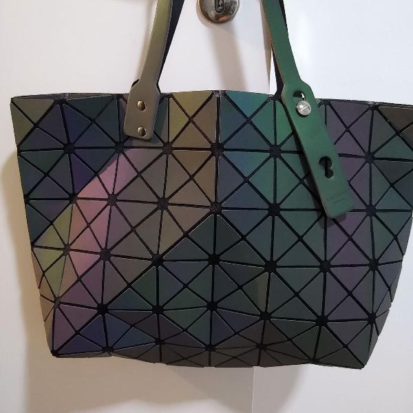 Bolsa bao bao geométrica yssey miyake