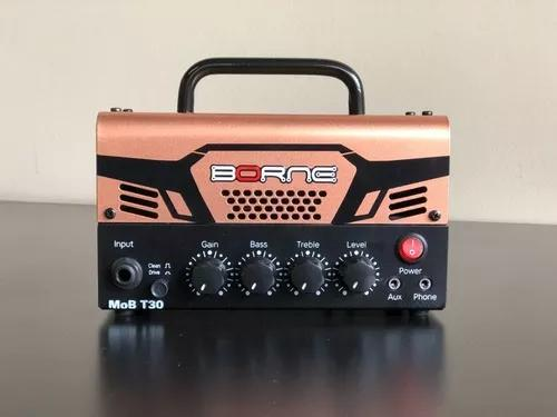 Cabeçote amplificado borne mob t30 ampllificador guitarra