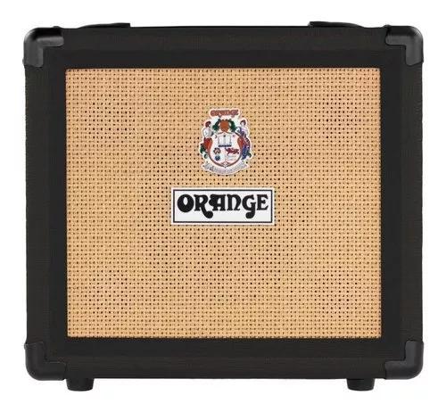 Caixa amplificada orange crush 12 12w 1x6 para guitarra