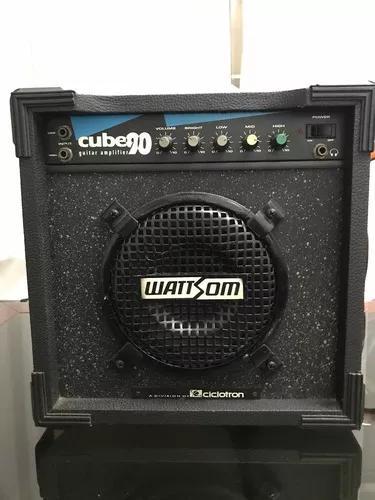 Caixa de som amplificador cube 90 wattsom