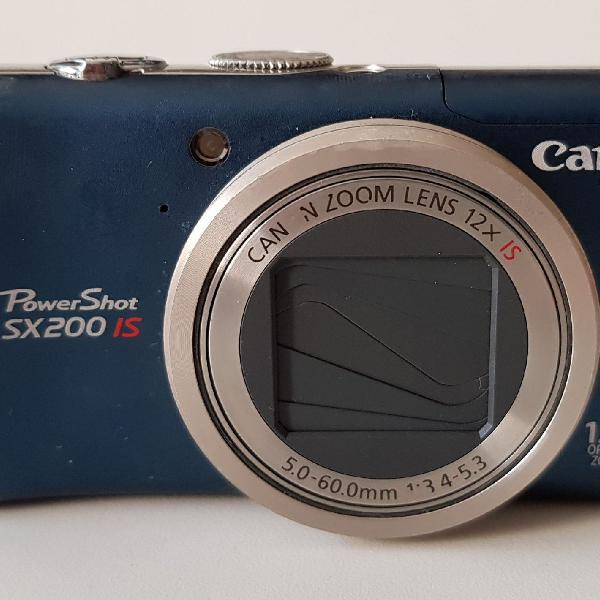 Camera digital canon power shot sx200 is