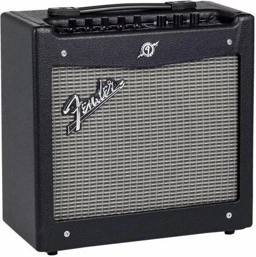Combo amplificador fender 20 watts mustang i v2 afinador c.