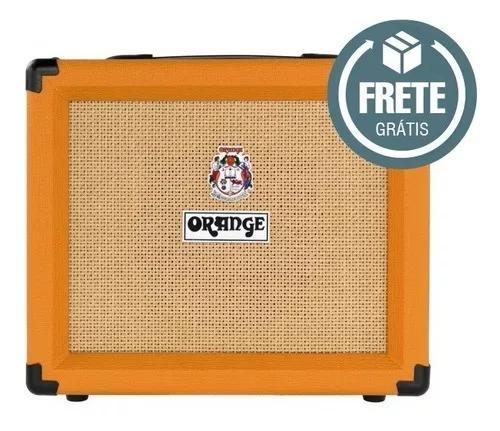 Combo orange crush 20rt para guitarra 20w reverb + afinador