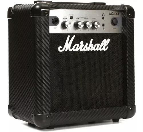 Cubo amplificador de guitarra marshall mg10cf