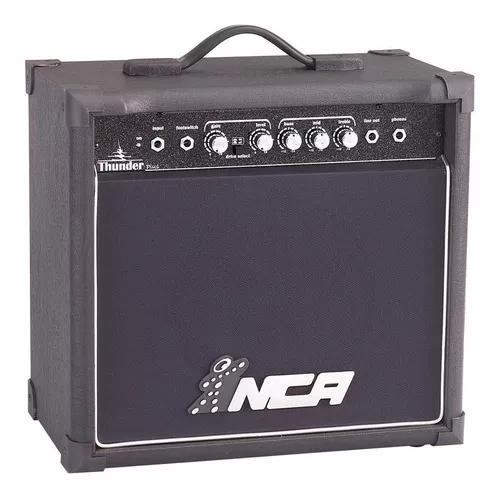 Cubo amplificador de guitarra nca thunder plus 30w rms