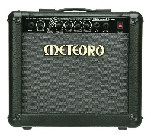 Cubo amplificador guitarra meteoro nitrous drive 15 - 15wrms