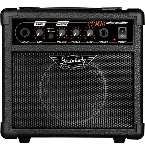 Cubo Caixa Som Amplificador Guitarra Violão 12w C/