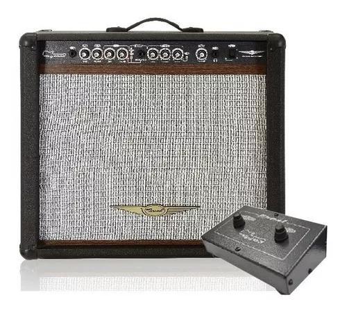 Cubo guitarra oneal ocg-400r preto + brinde