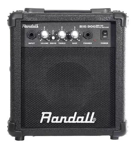 Cubo guitarra randall 10 big dog (melhor q meteoro) + cabo