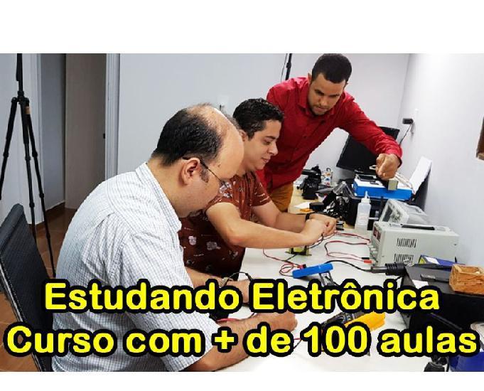 Curso estudando eletrônica