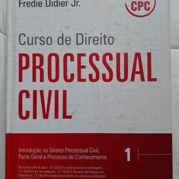 Curso de direito processual civil prof fredie didier jr.