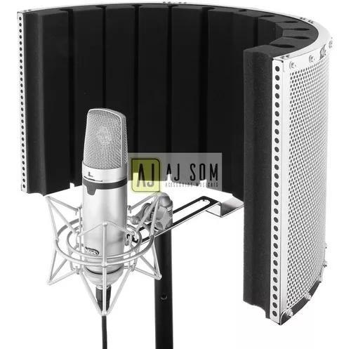 Difusor acústico p/ pedestal vocal booth reflection filter
