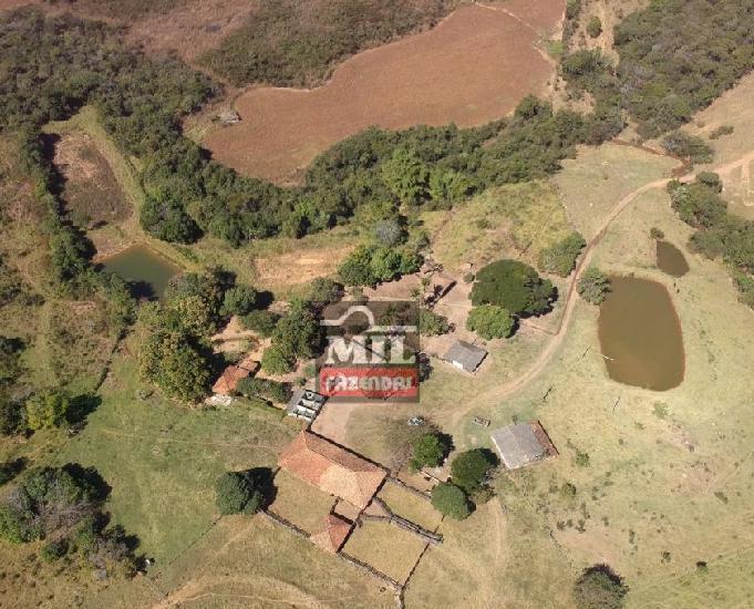 Fazenda 60 alqueires (290 hectares)ipameri-go