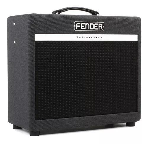Fender bassbreaker 15 amplificador cubo valvulado 12'' loja
