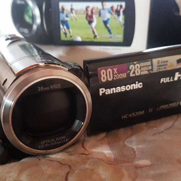 Filmadora panasonic hc-v520
