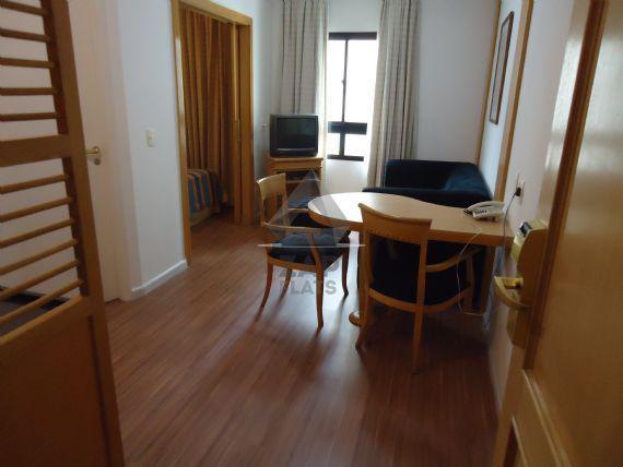 Flat com 1 quarto para alugar, 32 m² por r$ 1.700/mês cod.