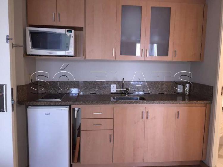 Flat com 1 quarto para alugar, 32 m² por r$ 1.870/mês cod.