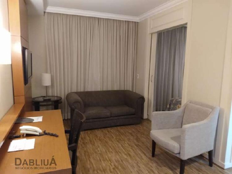 Flat com 1 quarto para alugar, 34 m² por r$ 2.100/mês cod.