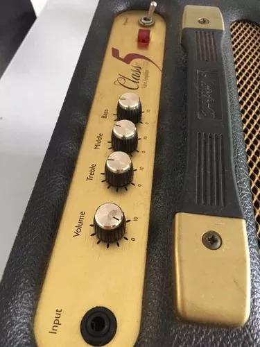 Marshall class 5 amplificador guitarra valvulado