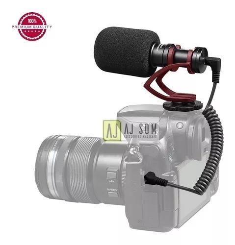 Microfone shotgun p/celular,gopro-sennheiser,rode,sony