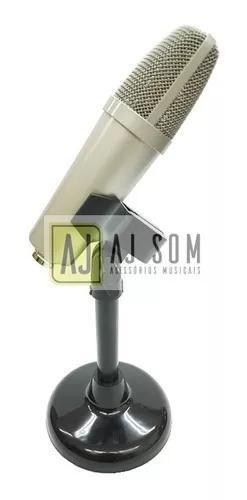 Pedestal mini reto mesa,p/microfone-arcano,akg...20 cm-cores